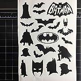 Batman Sticker Decal Superhero Batman Home Decor Sticker Vinyle Voitures Mobile Téléphones Autocollants Pépinière Enfants
