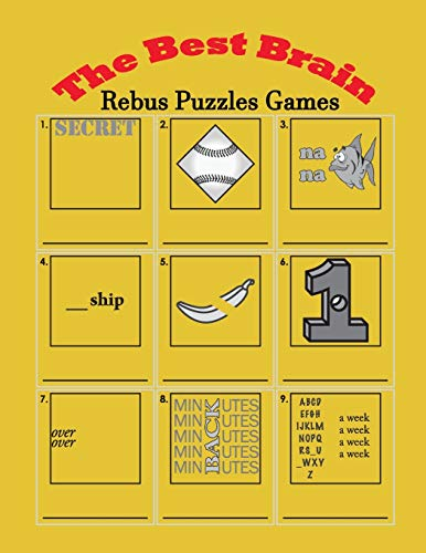 The Best Brain Rebus Puzzles Games: Word Plexer Puzzle Teasers Frame