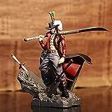 Anime Characters One Piece Luffy One Piece Pop Figure Mihawk Figure PVC Statue Figure Statues Character Shaped Figures Figure 15CM (Dracula Mihawk)