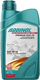 ADDINOL PREMIUM 0530 FD FD 5W 30 A5/B5, A1/B1 Motorenöl, 1 Liter