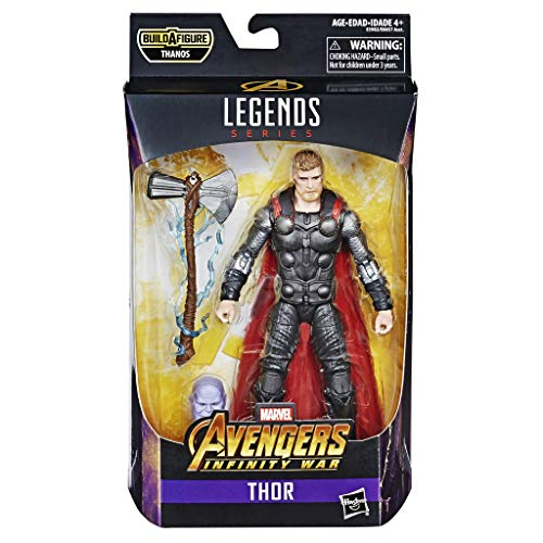 Hasbro Marvel Legends Series- Thor Action Figure da Collezione, 15 cm, Ispirata al Film, Multicolore, E3982CB0