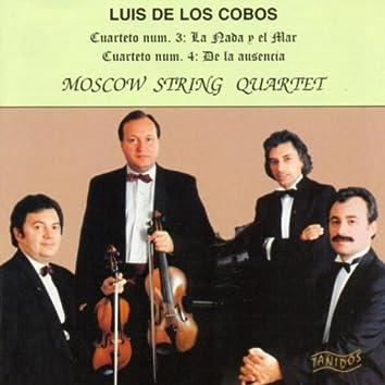 """Luis de Los Cobos: Cuarteto Nº 3 """"La Nada y el Mar"""". Cuarteto Nº 4 """"De la Ausencia"""""""