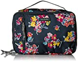 Vera Bradley Women's Lighten Up Large Blush & Brush Makeup Organizer Case, Tossed Posies...