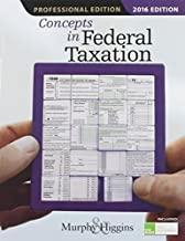 Concepts in Federal Taxation 2016, Professional Edition (with H&R Block(TM) Tax Preparation Software CD-ROM) by Kevin E. Murphy (2015-04-15)