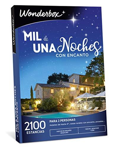 WONDERBOX Caja Regalo -MIL & UNA Noches con Encanto- 2.100 estancias para Dos Personas