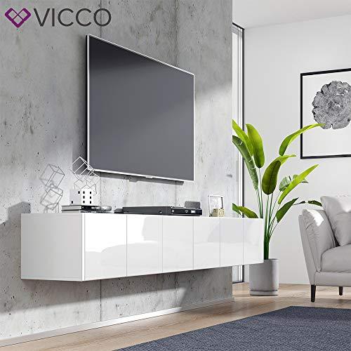 Wohnwand – Vicco TV Board Cumulus hängend Bild 4*