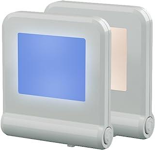 Plug in LED Night Light with Smart Dusk to Dawn Sensor, MAZ-TEK Multi-Color Changeable Nightlights, Energy Efficient Night...