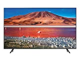 Samsung Crystal UHD 2020 43TU7105- Smart TV de 43' con Resolución 4K, HDR 10+, Crystal Display, Procesador 4K, PurColor, Sonido Inteligente, Función One Remote Control y Compatible Asistentes de Voz