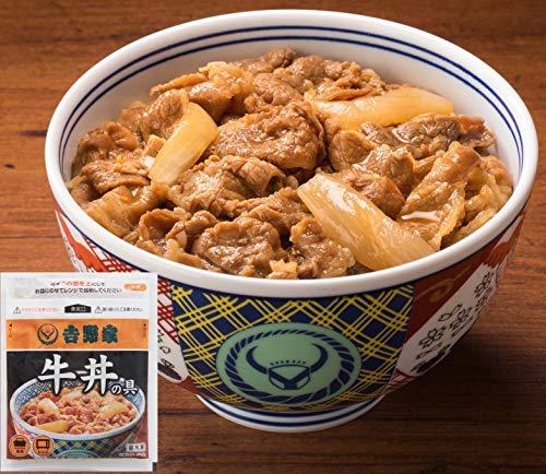 吉野家 冷凍 牛丼の具 30食 セット (120g×30P)