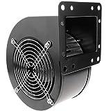 PrimeMatik - Extractor de Aire centrífugo Radial para ventilación Industrial 2560 RPM Cuadrado 220x209x125 mm