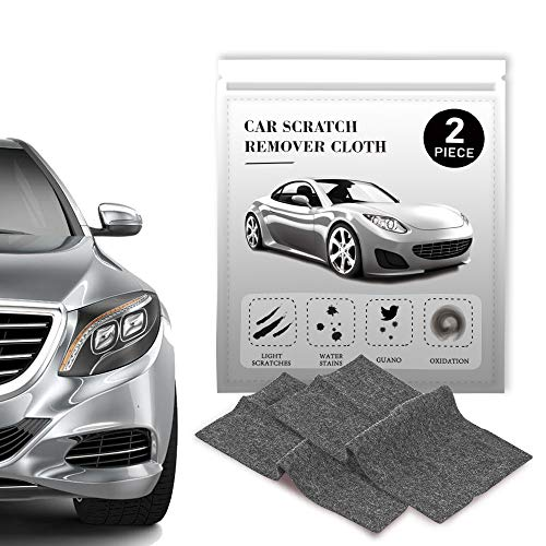 Car Scratch Remover Cloth,Multi-Purpose Nano Magic Car Scratch Repair,Nanomagic Cloth,Nano Cloth For Car Paint Scratch Repair,Easy to repair small and medium scratched car paint,water spots,2 Pieces
