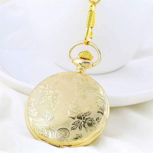 RELOJ DE BOLSILLO Reloj de bolsillo, clásico Shiying Tabla Huai, creativo hombres y mujeres Regalo de cumpleaños, reloj de bolsillo de tapa Complejo antiguo. Un reloj apto para llevar en el bolsillo.
