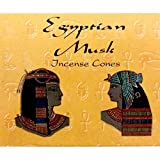 Egyptian Musk Cones - Kamini Incense - Case Pack of Twelve Boxes