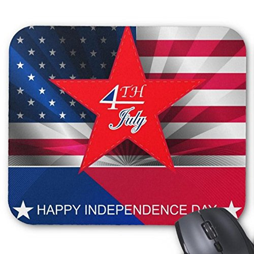 Mouse Pad 4Th July Independence Day Design Mouse Mat 9.8 X 7.8 in