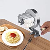Macchina della tagliatella del creatore della pasta manuale Lega di alluminio Macchina della pressa della pasta della tagliatella fatta in casa dei maccheroni per cucina