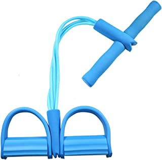 Cuerda para ejercitar piernas, 4 Tubos, multifunción, para
