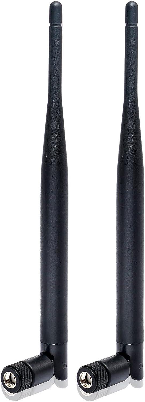 Nelawya RP-SMA WiFi Antenna 6dBi Ant MIMO Be super welcome 5.8Ghz 2.4GHz Dualband 4 years warranty