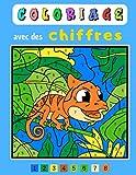 Coloriage avec des chiffres: cahier de coloriage par numéro animaux 4-8 ans. De nombreuses pages de coloriages magique enfant dès 4 ans, idéal pour ... à respecter et solutions à la foin du livre.