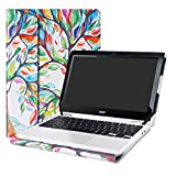 Alapmk Protective Case Cover For 11.6' Acer Chromebook R11 CB5-132T C738T/Chromebook 11 CB3-131/Spin 1 SP111-33 Series Laptop(Note:Not fit Spin 1 SP111-32 SP111-31/Other Chromebook 11),Love Tree