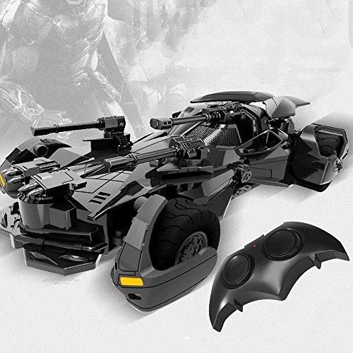MUMUMI Batman remoto de carga del coche del control Justicia héroe eléctrico de alta velocidad de deriva coche de deportes de Chariot Modelo Juguetes for niños de cumpleaños regalos de Año Nuevo adorn