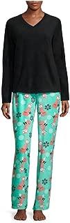 Juniors Micro-Fleece Fox Pajama And Blanket Set, Black