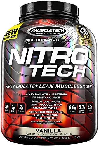 MuscleTech Nitro-Tech, Chocolate Chip Cookie Dough - 1810g