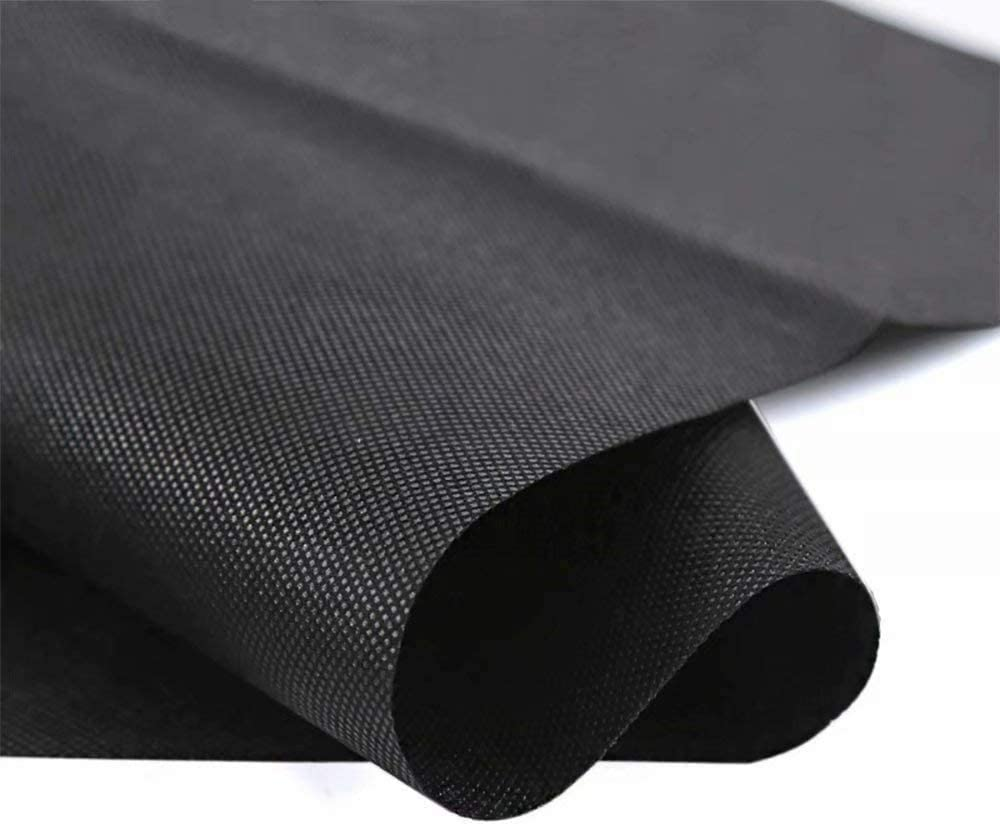 Agfabric Landscape WB30-6x150ft Heavy Non-Woven Ground Cover Weed Barrier Fabric for Gardening Mat and Raised Bed, Weed Control