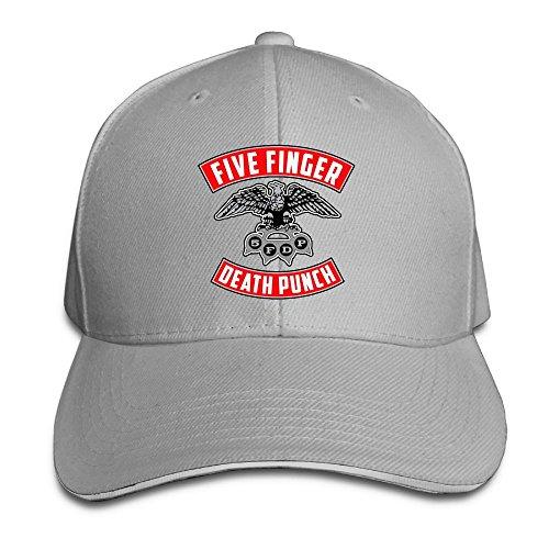 UrsulaA Adult Five Finger Death Punch Adjustable Baseball Caps Hats Ash