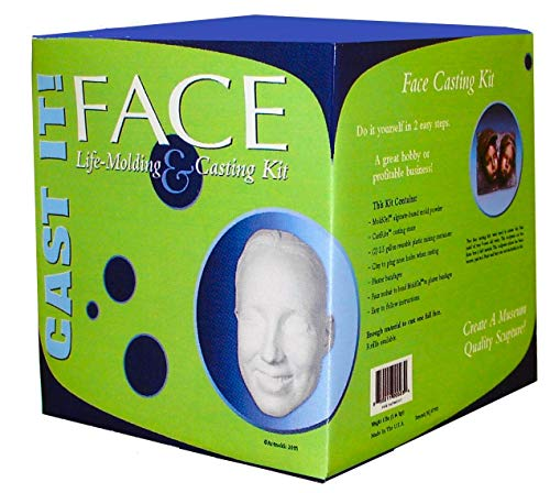Face Casting Kit by ArtMolds - Safe to Use, Hypoallergenic Retain Unforgettable Moments in an Artistic Way with Sculpting Face Cast kit Made in USA