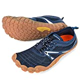 ALEADER Minimalist Running Shoes Womens Barefoot Cross Training Sneakers Navy 9 M US Women