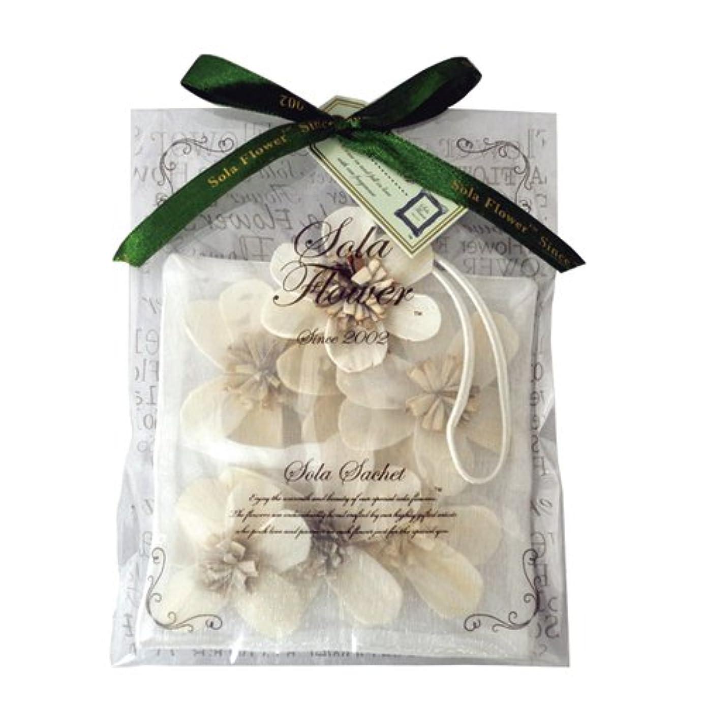 植物学葉巻頼るnew Sola Flower ソラフラワー サシェ Gentle Rose ジェントルローズ オーガンジーパッケージ Sachet