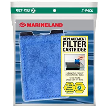 Marineland Eclipse Replacement Filter Cartridges For aquarium Filtration