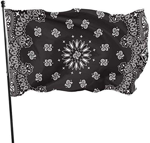 N/A American Guard Vlag Banner Garden Flags Bandana Zwart Duurzame Warming Yard voor Alle seizoenen Patio College Decoratieve 3x5 Ft