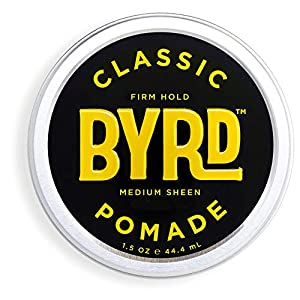 Beauty Shopping BYRD Classic Pomade – Firm Hold, Medium Sheen, For All Hair Types, Mineral