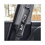 YGTY Cinturón Seguridad para Toyota CHR C-HR 2017 2018 2019 Hombro Funda Protectora Que Labra Los Accesorios del Asiento De Coche 2pcs Cubierta De La Correa Interior Moldeo