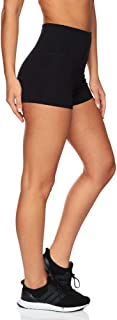 Rockwear Activewear Women's Hr Booty Short from Size 4-18 for Booty Ultra High Bottoms Leggings + Yoga Pants+ Yoga Tights