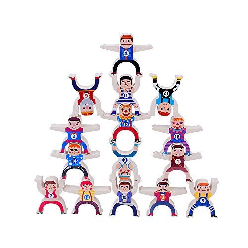 12pc Hercules Balance Stacking Games Children