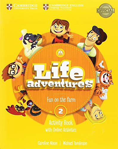 Life Adventures Level 2 Activity Book with Home Booklet