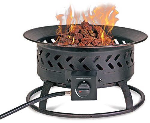 Endless Summer Steel Portable Propane Outdoor Fireplace
