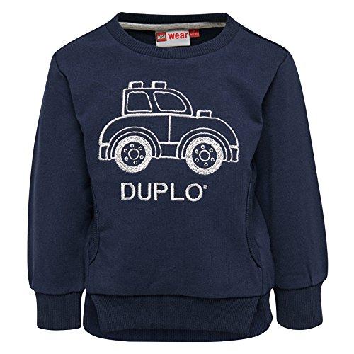 LEGO Wear Lego Wear Baby-Jungen DUPLO Boy Sander 301 Sweatshirt, Blau (Dark Navy 589), 74
