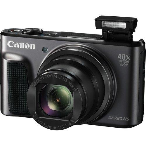 Deal-Expo Canon PowerShot SX720 HS 20.3MP Digital Camera Essential Accessories Bundle