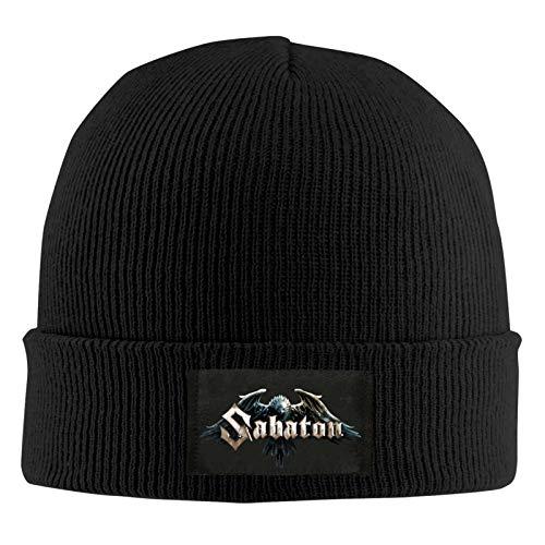 Sabaton Gorro de Punto Unisex Otoño Invierno Sombrero de...
