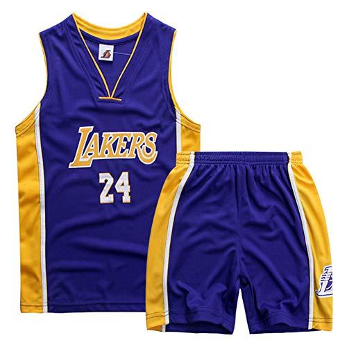 Kobe Curry Bull - Camiseta infantil de manga corta, transpirable, de secado rápido, para entrenamiento de baloncesto, 14 a XXL (170 cm)