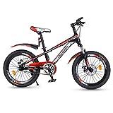 Vélo for Enfants Vélos 18 Pouces Vélos De Fille VTT Étudiant Vélo for Les Garçons (Color : Red, Size : 18 inches)