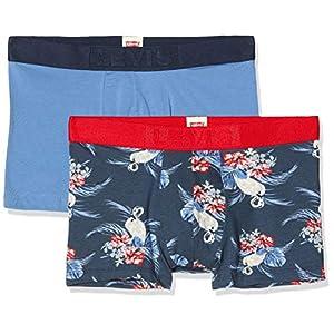 Levi's Levis Men Flamingo AOP Trunk 2p Bóxer (Pack de 2) para Hombre