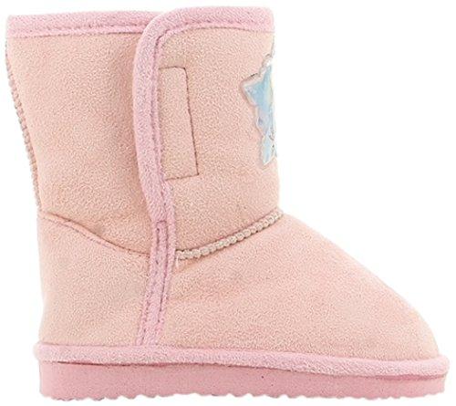 Die Eiskönigin Mädchen Girls Kids Booties Snowboot Schneestiefel, Pink (Light Pink), 26 EU