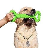 Giochi da masticare resistenti per cani grandi 13 pollice Forma dell'osso Giocattoli per cani con Design convesso duri giochi interattivi per per cani piccoli e grandi