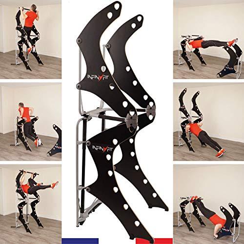 INFINYFIT 130- La Seule Chaise Romaine Pliable -...