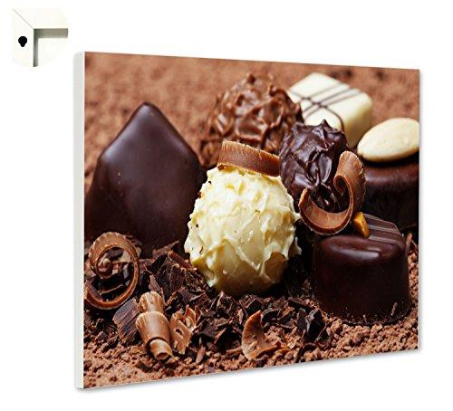Magneetbord prikbord met motief keuken bonzen chocolade 100 x 80 cm