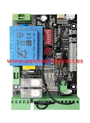 scheda di controllo Universale per Cancello Porte Scorrevoli Compatibile con BFT Alpha 230V